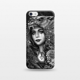 iPhone 5C  Winya 93 by Winya (chicano,neo traditional,tattoo style,black and white,tattoo,surreal,witch,magic,occult,culture,art line,line work,death metal,death,baroque,victorian,streem punk,gothic,pop culture,dark,sacred geometry,fantasy,diamond,mystical,sacred,creepy,fairy,angel,crow,rook,myth,queen,lion,roses,animal,lady,wom)