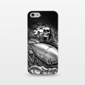 iPhone 5/5E/5s  Winya 97 by Winya (bones,skull,skeleton,reaper,black and white,tattoo,surreal,witch,magic,occult,culture,art line,line work,death metal,death,streem punk,gothic,pop culture,dark,fantasy,mystical,sacred,creepy,fairy,angel,myth,queen,roses,war,world war,boom,bomber,plane,military,military aircraft,where is the love,wher)