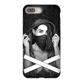 iPhone 8/7 plus  Winya 100 by Winya (women,sex,pinup,manga,comics,tattoo design,art line,nice,line work,girl,lady,street art,hipster,sexy,beautiful,skateboard tee,skate wear,street wear,hip,street fashion,casual wear,skate clothing,rebellion,rebel,fight,gangster,chicano,tattoo style,black and white,bad ass,pop culture,punk,hip hop,ska,)