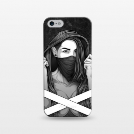 iPhone 5/5E/5s  Winya 100 by Winya (women,sex,pinup,manga,comics,tattoo design,art line,nice,line work,girl,lady,street art,hipster,sexy,beautiful,skateboard tee,skate wear,street wear,hip,street fashion,casual wear,skate clothing,rebellion,rebel,fight,gangster,chicano,tattoo style,black and white,bad ass,pop culture,punk,hip hop,ska,)