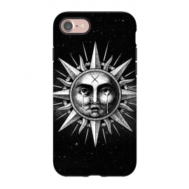 iPhone 8/7  Winya 101 by Winya (sun,sun vintage,sun drawing,sun old style,sun tattoo,cry,engraving,old school,death,baroque,victorian,streem punk,gothic,pop culture,dark,sacred geometry,fantasy,mystical,sacred,creepy,popsurrealism,post apocalyptic,tattoos)
