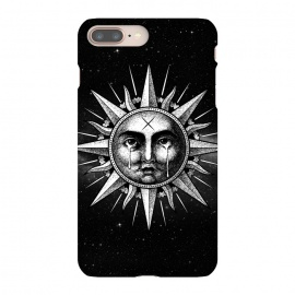 iPhone 8/7 plus  Winya 101 by Winya (sun,sun vintage,sun drawing,sun old style,sun tattoo,cry,engraving,old school,death,baroque,victorian,streem punk,gothic,pop culture,dark,sacred geometry,fantasy,mystical,sacred,creepy,popsurrealism,post apocalyptic,tattoos)