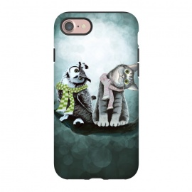 iPhone 8/7  Cat and Owl by Tummeow ()