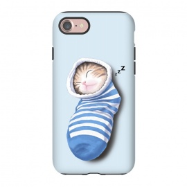 iPhone 8/7  Cat in The Sock by Tummeow ()
