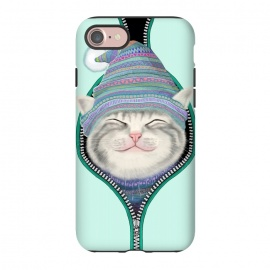 iPhone 8/7  Cat in The Zip by Tummeow ()