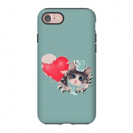 iPhone 8/7  Cat Steal your Heart by Tummeow ()