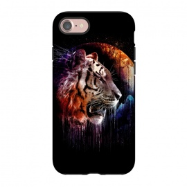 iPhone 8/7  Midnight Hunter by Jay Maninang (tiger,big cats,cats,wild life,wild,hunter,predator,midnight)