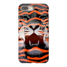 iPhone 8/7 plus  Stripped by Jay Maninang (tiger,stripes,nature,wild,wildlife, bigcats,cats)