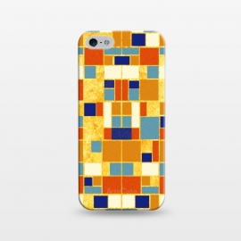 iPhone 5/5E/5s  Colors of the royals 贵の彩 by EY Chin (royal,ancient,vintage,pattern,gold,egypt,blue,red,orage,brown,geometric,square,symmetry,abstract,arab,turquoise,agate,carnelian,ethnic)