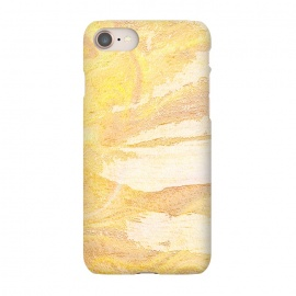 iPhone 7 SlimFit Touches of time 时の触摸 by EY Chin (time,sand,nature,abstract,texture,shade,beach,yellow,brown,landscape)