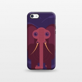 iPhone 5C StrongFit Elephant  by Parag K (Art,ArtElephant,Creative,ive)