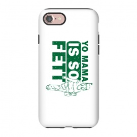 iPhone 8/7  So Fett by Manos Papatheodorou (boba fett, fett,star wars,yo mama,mama's jokes,funny,parody)