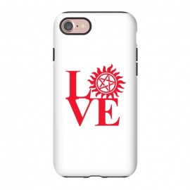 iPhone 8/7  Love Hunting by Manos Papatheodorou (supernatural,spn,demon hunting,love,tv series,tv,winchesters)