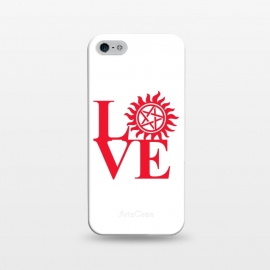 iPhone 5/5E/5s  Love Hunting by Manos Papatheodorou (supernatural,spn,demon hunting,love,tv series,tv,winchesters)