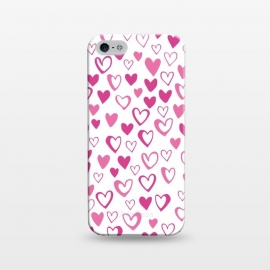 iPhone 5/5E/5s  Lovehearts by Kimrhi Studios