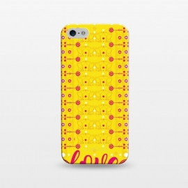 iPhone 5/5E/5s  Cat Lovers by Karim Luengo (cat ,vector,pattern,love)