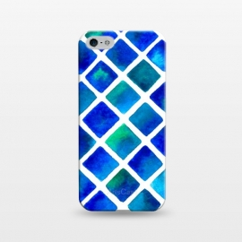 iPhone 5/5E/5s  Geo Blue by