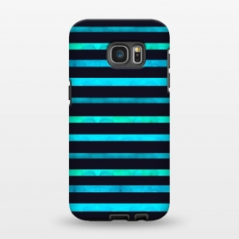 Galaxy S7 EDGE  Surf Stripes by Amaya Brydon