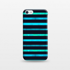 iPhone 5C  Surf Stripes by Amaya Brydon (surf,stripes,ocean,geometric,abstract)