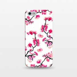 iPhone 5/5E/5s  Japanese Cherry Blossoms by Amaya Brydon