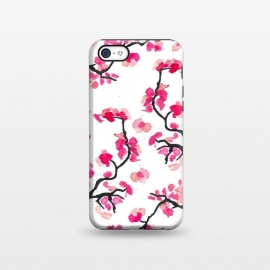 iPhone 5C  Japanese Cherry Blossoms by Amaya Brydon