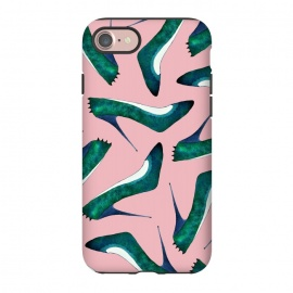 iPhone 7  Green With Envy Pink by Amaya Brydon