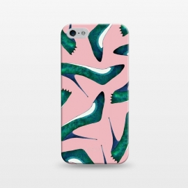 iPhone 5/5E/5s  Green With Envy Pink by Amaya Brydon (shoes,stiletto,pink,fashion,runway)