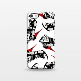 iPhone 5C  Stiletto Punk by Amaya Brydon