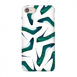 iPhone 8/7  Green With Envy by Amaya Brydon (shoes,stiletto,spikes,fashion,runway)