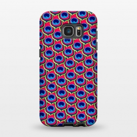Galaxy S7 EDGE  Retro Peacock by Amaya Brydon