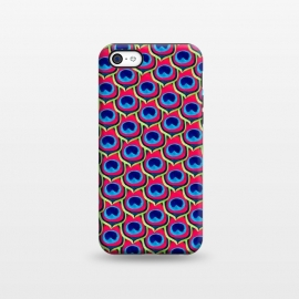 iPhone 5C  Retro Peacock by Amaya Brydon