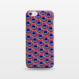 iPhone 5C  Retro Peacock by Amaya Brydon (peacock,feathers,pattern,retro)