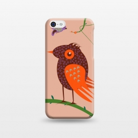 iPhone 5C  Bird by Parag K (Bird,art,Greetings,Birthday)