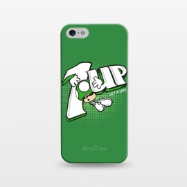 iPhone 5/5E/5s  1UP Get a Life by Samiel Art (samiel,samielart,1up,mario bros,7up,retro,video games,gamer,nostalgia,80s,nintendo,funny,cute)