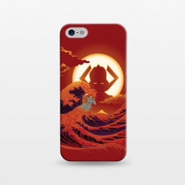 iPhone 5/5E/5s  Surfing with the Alien by Samiel Art