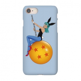 iPhone 7 SlimFit Bunny Ball by Samiel Art (samiel,samielart,bulma,vegeta,goku,dragon ball,music,funny ,wrecking ball,Miley Cyrus ,dbz,bunny,hot)