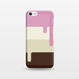 iPhone 5C  Neapolitan Ice Cream by Dellán (Ice cream, neapolitan,summer,spring,cold,gender neutral,gourmet,fresh,ice pop)
