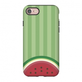 iPhone 8/7  Watermelon Pop by Dellán (watermelon,fruit,gourmet,tropical,beach,summer,spring,fresh,minimalist)