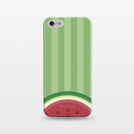 iPhone 5/5E/5s  Watermelon Pop by Dellán (watermelon,fruit,gourmet,tropical,beach,summer,spring,fresh,minimalist)