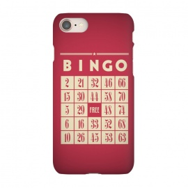 iPhone 8/7  Bingo! by Dellán (games,hobby,tabletop game,retro,bingo,numbers,vintage,geek)