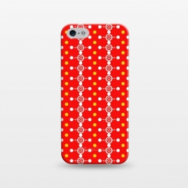iPhone 5/5E/5s  Orange Pattern by Karim Luengo (vector,color,pattern,geometric,abstract,orange)