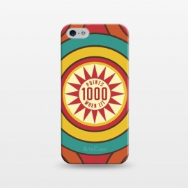 iPhone 5/5E/5s  Pinball Game by Dellán (Retro,vintage,gamer,classic,hobby,sport,funny,gender neutral,fashion,nostalgia)