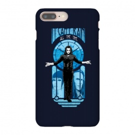 iPhone 8/7 plus  IT CAN'T RAIN ALL THE TIME by  ( CROW, THE CROW,BRANDON LEE, CULT MOVIE,MOVIE,90'S,90S,NINETIES,IT CANT RAIN ALL THE TIME,SKULLPY,ART NOUVEAU,GOTHIC,DARK,FILM)