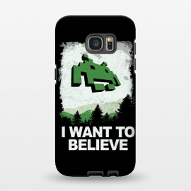 Galaxy S7 EDGE  I WANT TO BELIEVE by SKULLPY