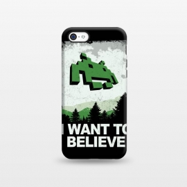 iPhone 5C  I WANT TO BELIEVE by SKULLPY