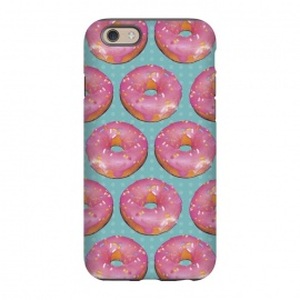 iPhone 6/6s StrongFit Mini Donuts by Dellán (Donuts,gourmet,collage,pattern,pink,food,gender neutral,foodie,chef,love,fashion,sugar,sweet,snack,photography)