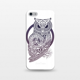 iPhone 5/5E/5s  CELTIC OWL by RAIDHO (owl,celtic,celtic-knotwork,knotwork,celtic-spirals)