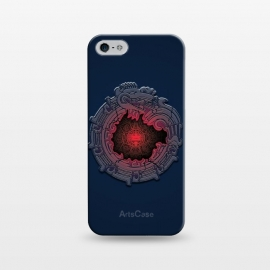 iPhone 5/5E/5s  SUN-STONE by RAIDHO (AZTEC,SUN-STONE,QUETZALKOATL,DEEP,DRAGON)