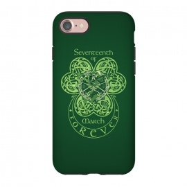 iPhone 8/7  MARCH 17th by RAIDHO (st.patrick's day,irish,celtic,clover,irish dance,love,celtic knots,knotwork)