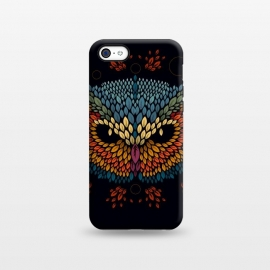 iPhone 5C  Owl Face by Q-Artwork